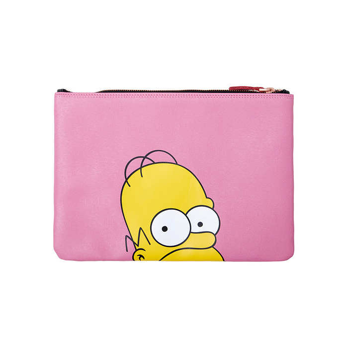 [AW15 The Simpsons] Donut Clutch (Pink) 스테레오 바이널즈