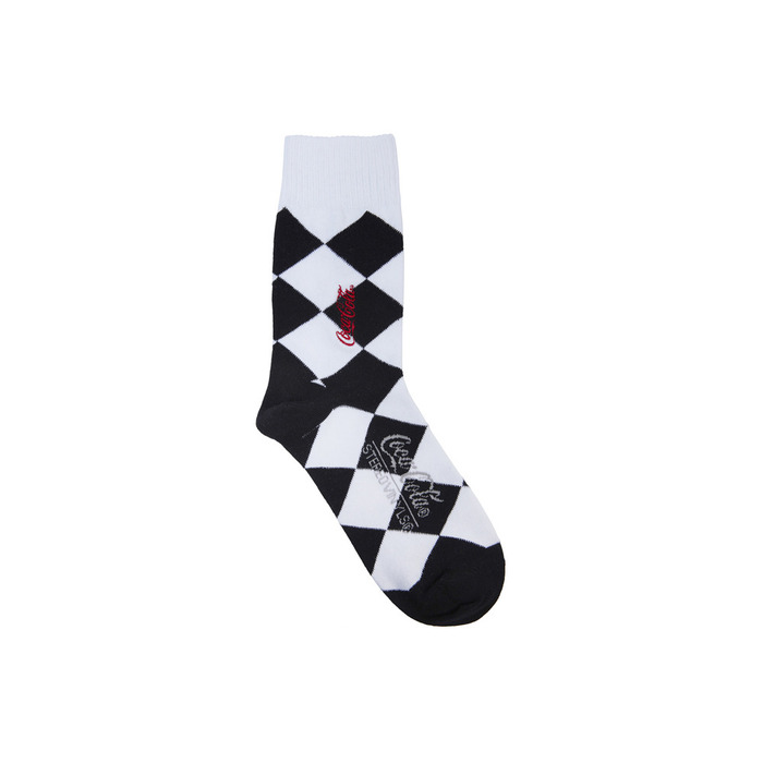 [CCC] Cocacola Diamond Socks(BLACK) 스테레오 바이널즈