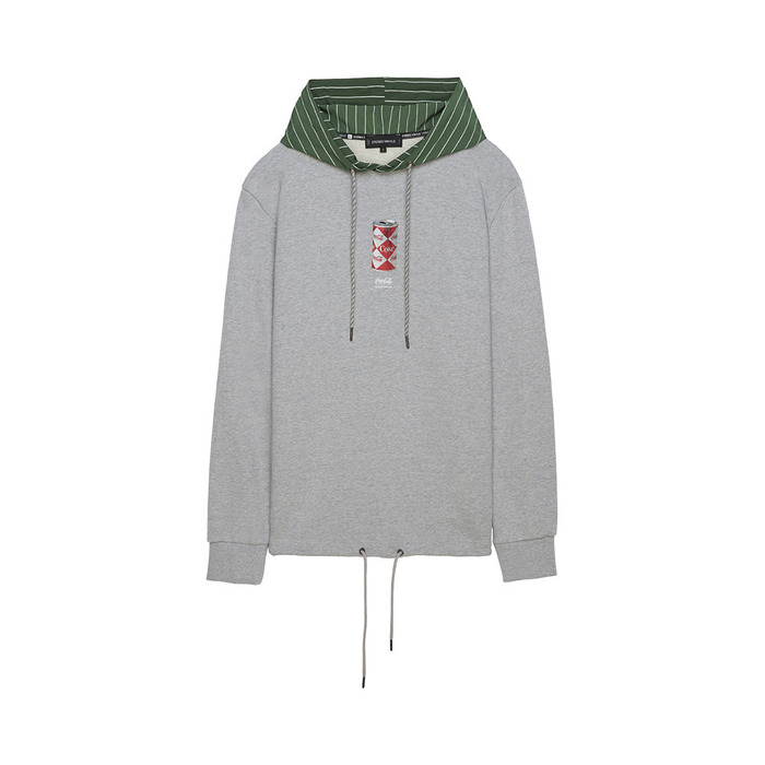 [CCC] Woven Hoodie Pullover(GREY)