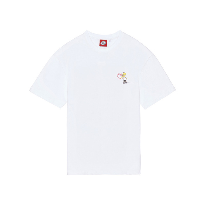 [SS16 Simpsons] Simpsons Graffiti S/S Tee(WHITE) 스테레오 바이널즈
