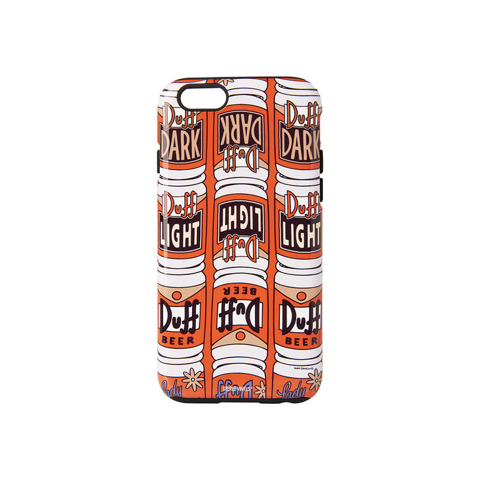 [SS16 Simpsons] Duff Beer iPhone 6/6S Case(ORANGE) 스테레오 바이널즈