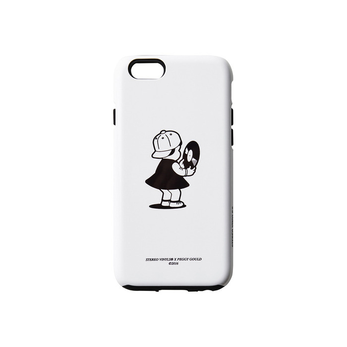 [AW16 Peggy] Peggy iPhone 6/6S Case(White) 스테레오 바이널즈
