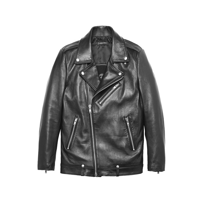 [AW16 Music] Lambskin Rider Jacket(Black) 스테레오 바이널즈