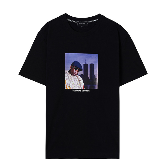[CHI] Uncategorized Notorious Tee(Black) 스테레오 바이널즈