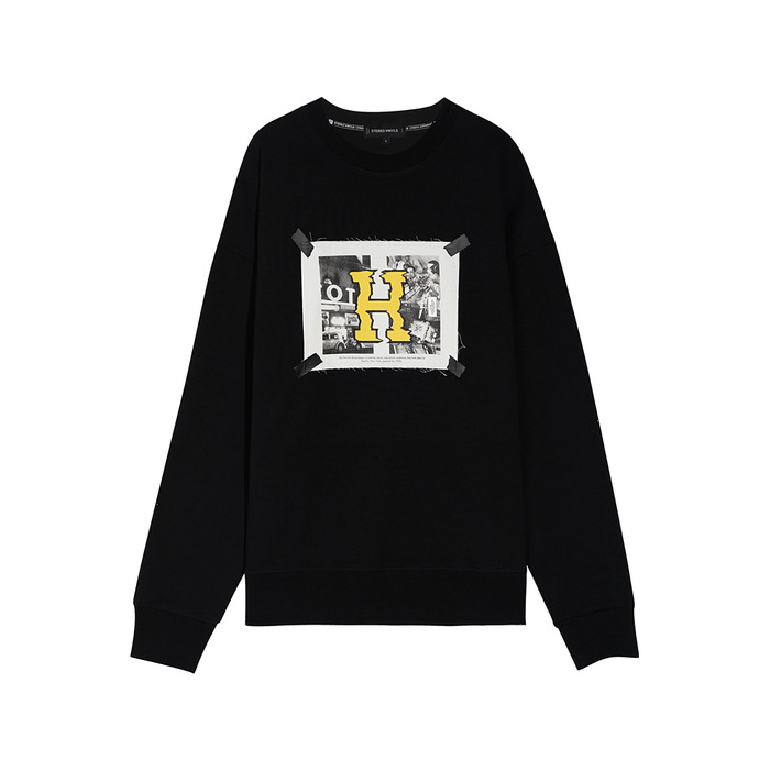 [SS17 Colour] H Sweatshirt(Black) 스테레오 바이널즈