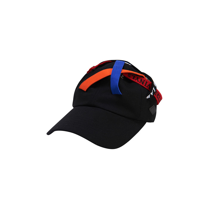 [SS17 Colour] Multi Strap 6P Cap(Black) 스테레오 바이널즈