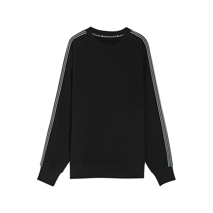 [SS17 Colour] Raglan Tape Sweatshirt(Black) 스테레오 바이널즈