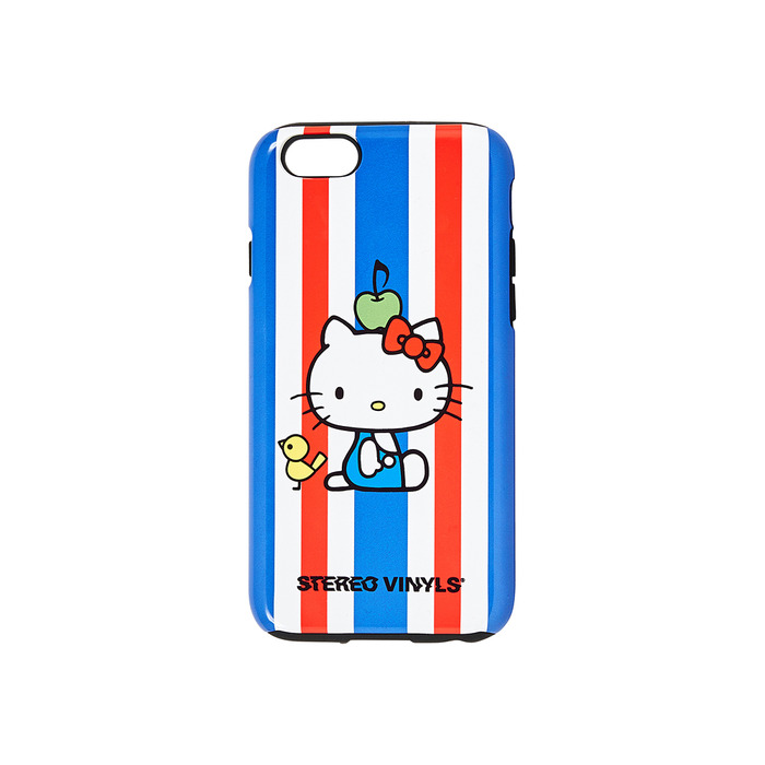 [Hello Kitty] Stripe iPhone 6/6S Case(Blue) 스테레오 바이널즈