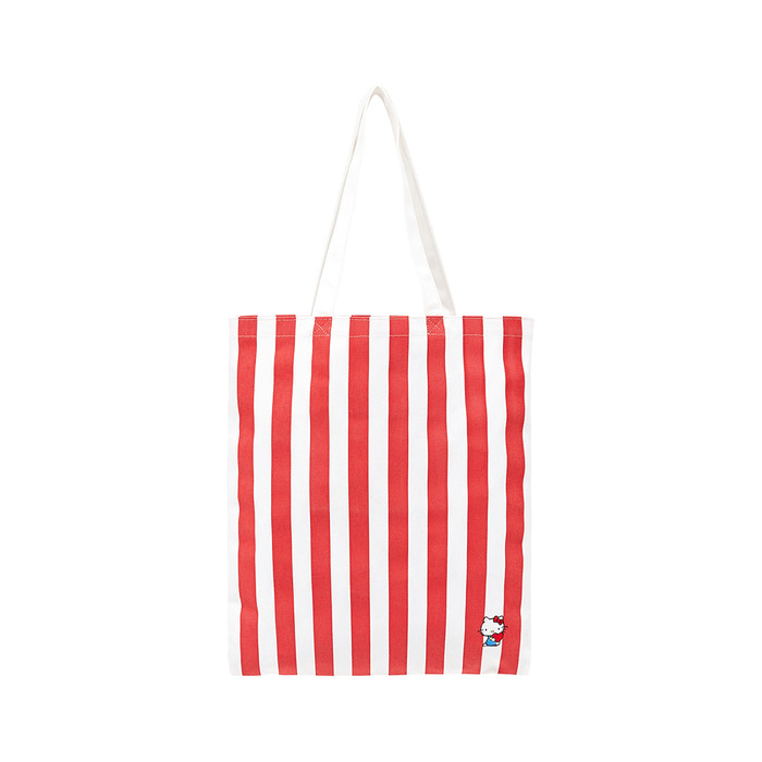 [Hello Kitty] Stripe Shoulder Bag(Red) 스테레오 바이널즈