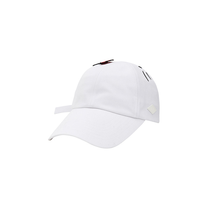 [Hello Kitty] Face 6P Cap(White) 스테레오 바이널즈