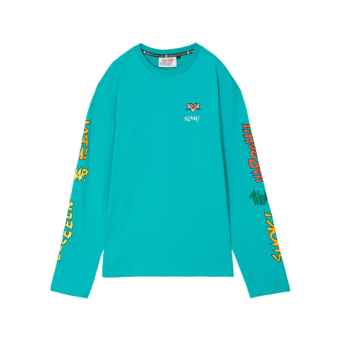 [Pink Panther] Comics Long Sleeve(Mint) 스테레오 바이널즈