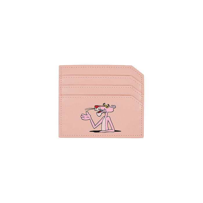 [Pink Panther] Card Wallet(Pink) 스테레오 바이널즈