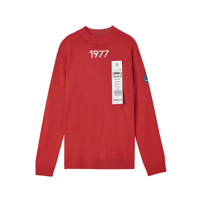 [AW17 ISA] Voyager Knit(Red) 스테레오 바이널즈