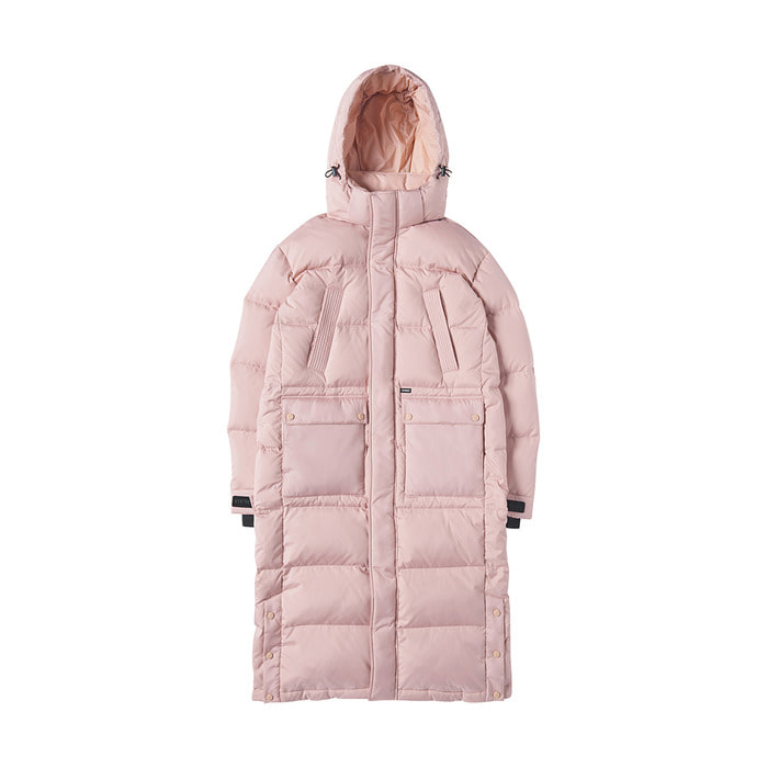 [AW17] Bench Long Down Parka(Pink) 스테레오 바이널즈