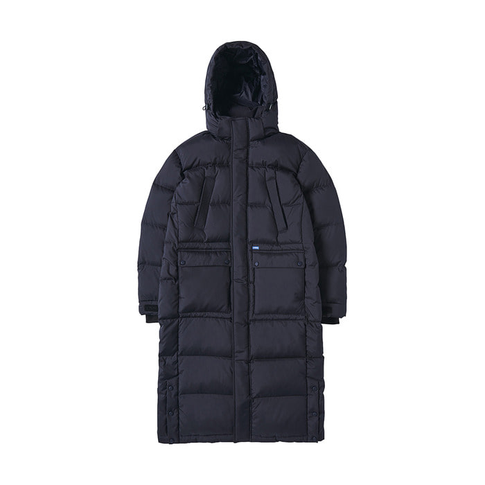 [AW17] Bench Long Down Parka(Navy) 스테레오 바이널즈