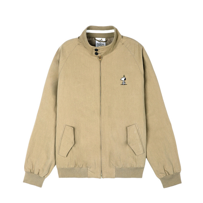 [SS18 Peanuts] Harrington Jacket(Beige) 스테레오 바이널즈