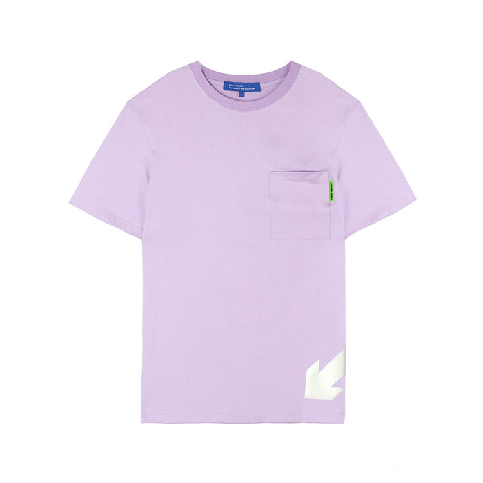 [SS18 ISA] Arrow T-Shirts(Lavender) 스테레오 바이널즈