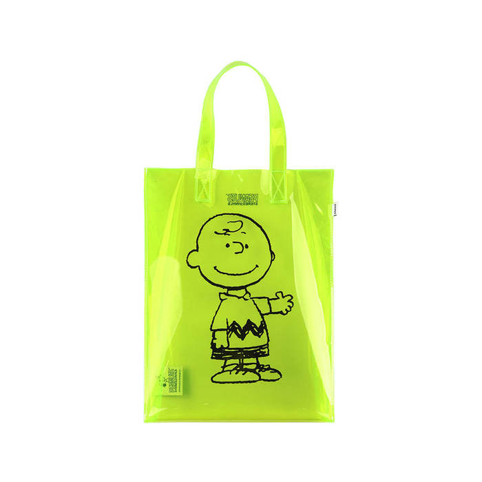 [SM18 Peanuts] Clear PVC Bag(Green) 스테레오 바이널즈