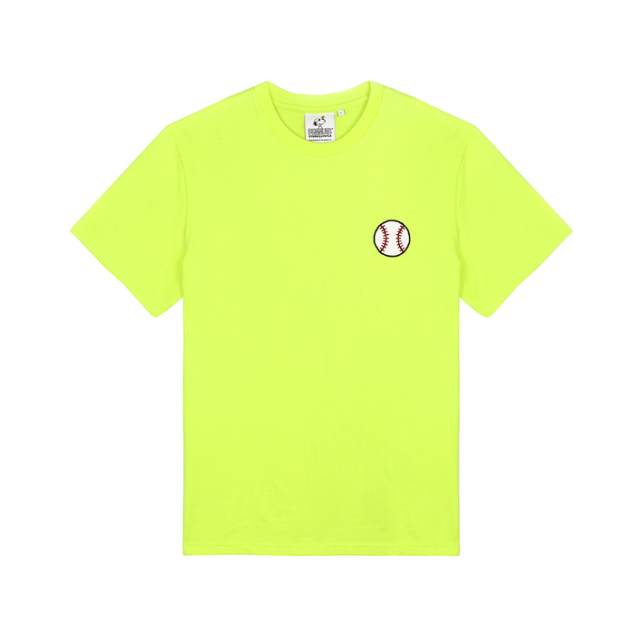 [SM18 Peanuts] Baseball T-Shirts(Green) 스테레오 바이널즈