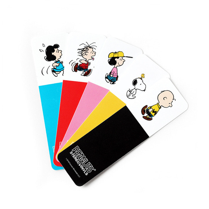 [SM18 Peanuts] Bookmark(White) 스테레오 바이널즈