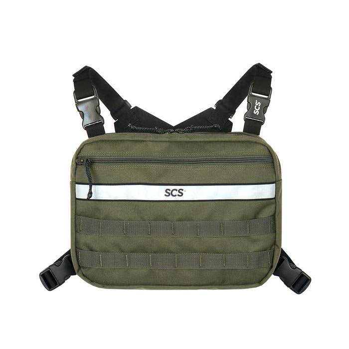 [FW18 SCS] 3M Scotchlite™ Radio Bag(Khaki) 스테레오 바이널즈