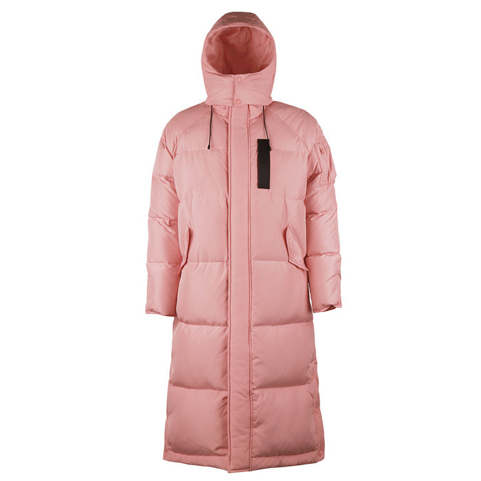 [FW18 SCS] Stereo MA-1 Long Down Parka(Pink) 스테레오 바이널즈