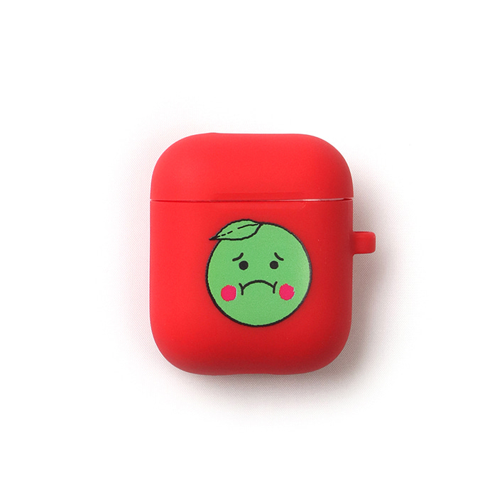 GOODGOOD Lemon & Lime AirPods Case(Red) 스테레오 바이널즈