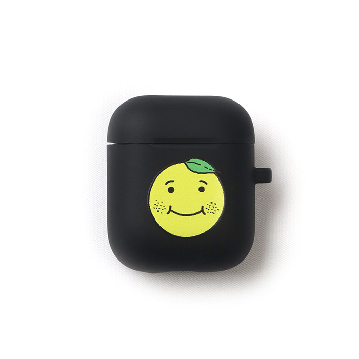 GOODGOOD Lemon & Lime AirPods Case(Black) 스테레오 바이널즈